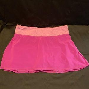 Lululemon pacesetter skirt, size 6